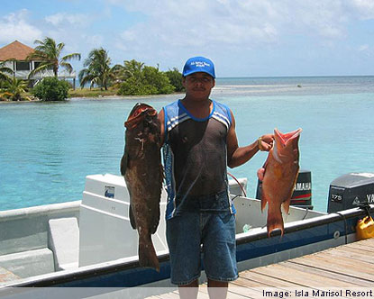 Residents object new fishing laws fines journal of for Fishing san pedro belize